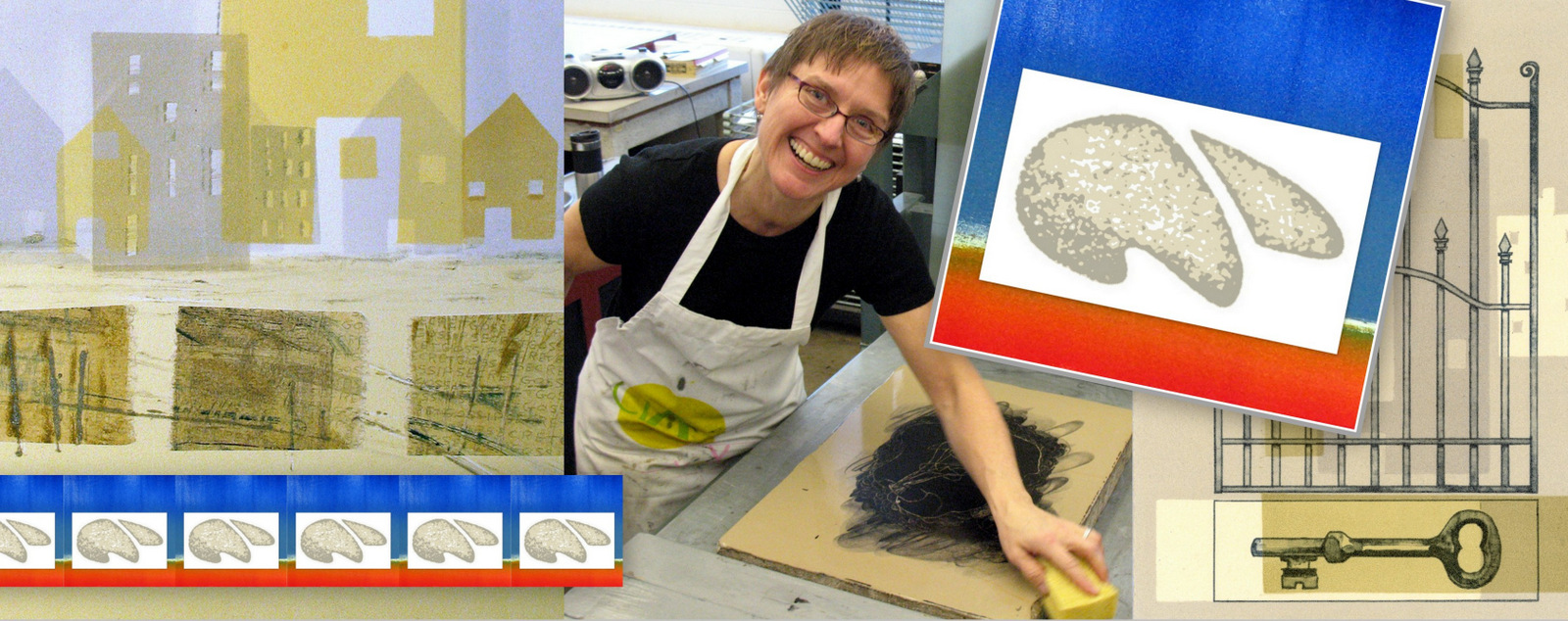 Karen Beckwith, Chop Mark, Master Printer