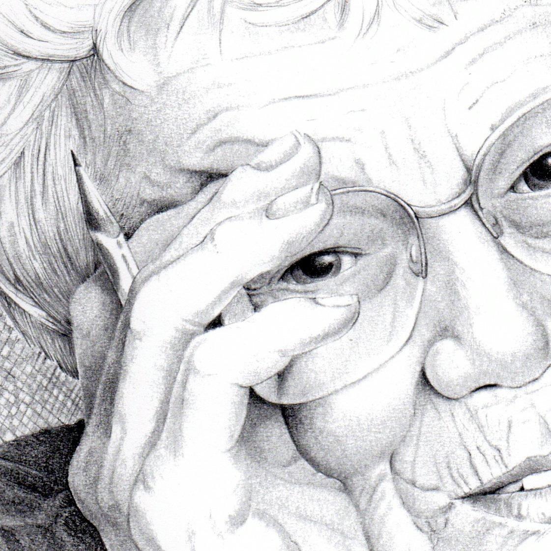Drawing, Portrait