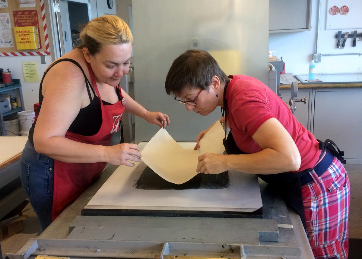 Printmaking Classes