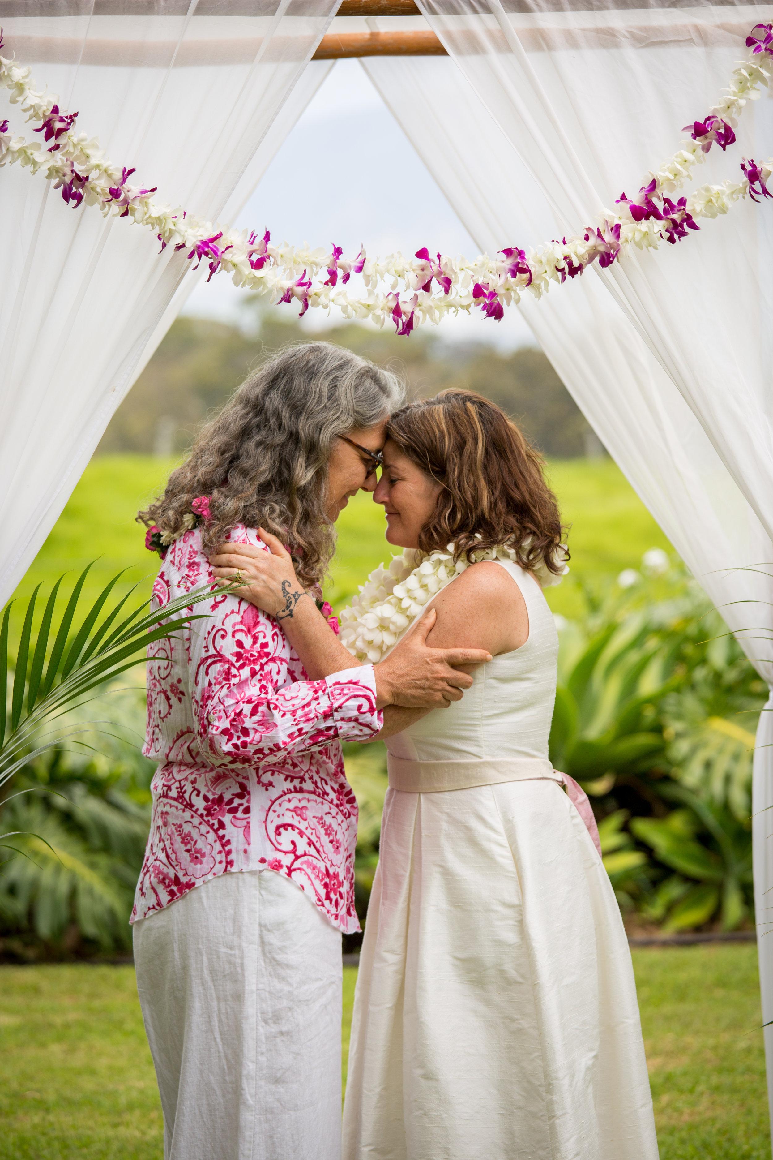 I just finished looking at our Maui Wedding Photos with Zelie - they are FANTASTIC! We LOVE them! You're amazing - we never even saw you, and yet you were everywhere and captured everything! Thank you're amazing! didn't ever realize just how beautiful it all was until I saw through your eyes/lens..  ~Lucia