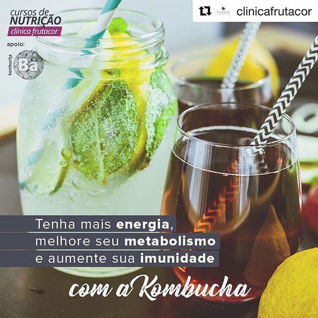 Faltam 3 dias!!! 💓💓💓 #Repost @clinicafrutacor with @get_repost ・・・ Kombucha: o que é, quais suas propriedades nutricionais e quando consumir? 🤔 Saiba tudo isso no nosso Workshop! 😀 É nesta quinta (26/04), a partir das 18:30 aqui na Clínica Frutacor.  Inscrições no site: www.clinicafrutacor.com.br *Os participantes serão recebidos com drinks da @bakombucha e snaks plant-based #clinicafrutacor #cursosfrutacor #kombucha #probiotics #plantbaseddiet #organic #nutricaofuncional