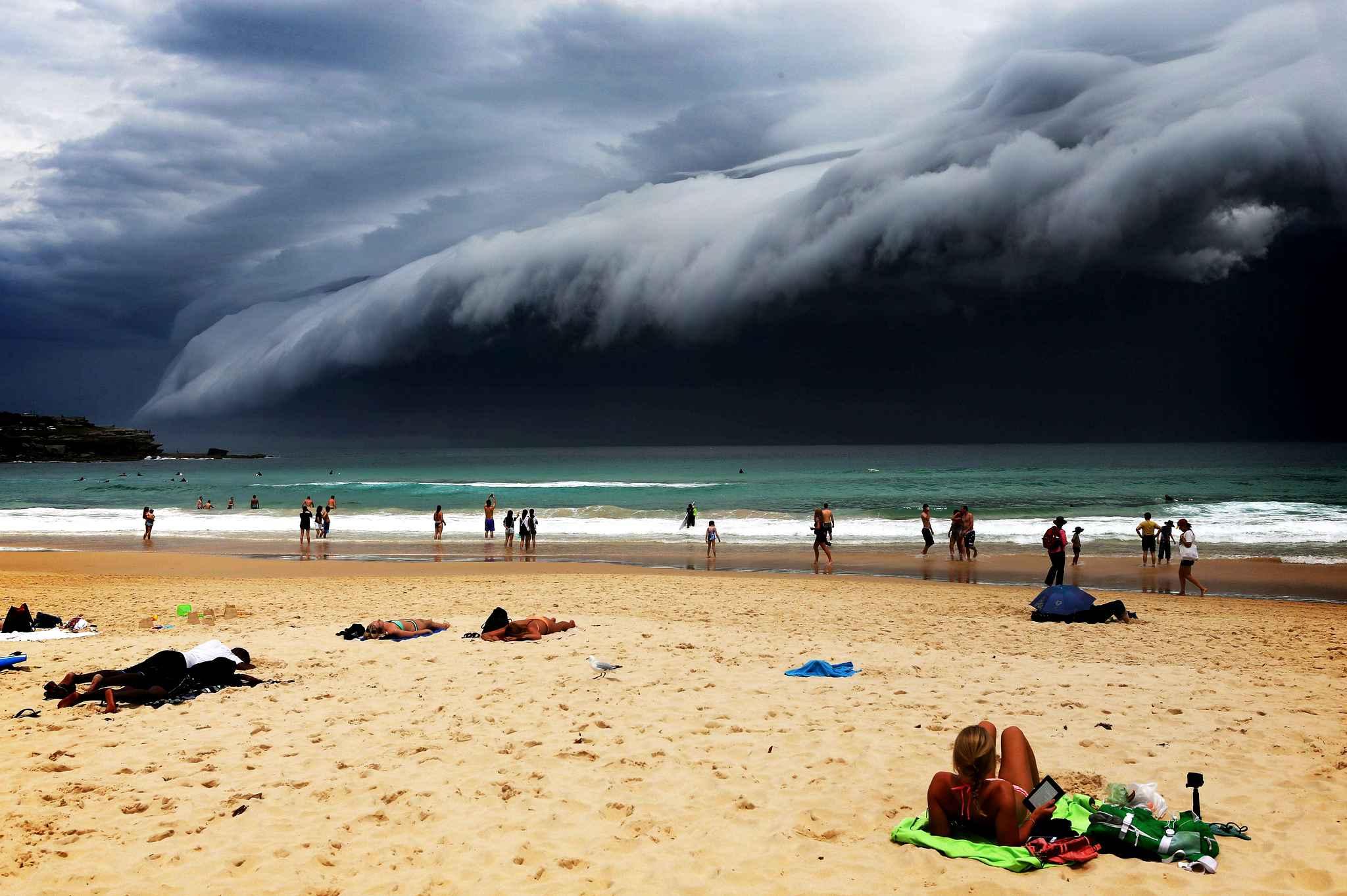 Bondi Beach Photograph by The Telegraph