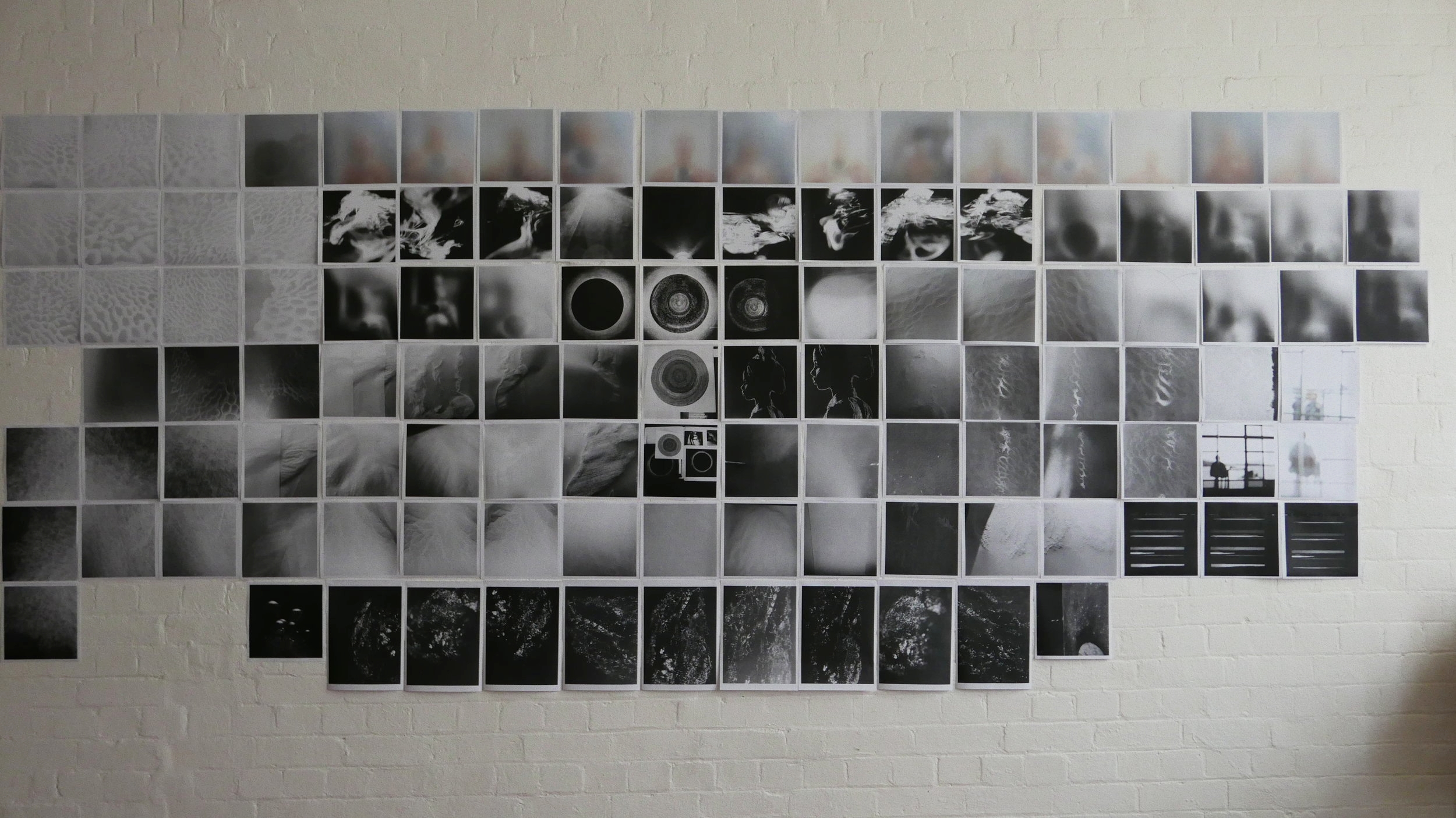 The Whole: documentation of drawings, photographs & experiments from the Jul. 2016 - May 2017
