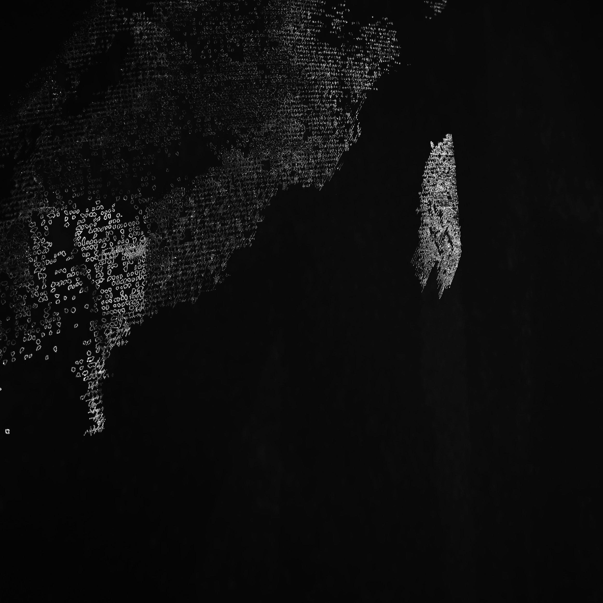 Drawing + Light  #5 black (detail)