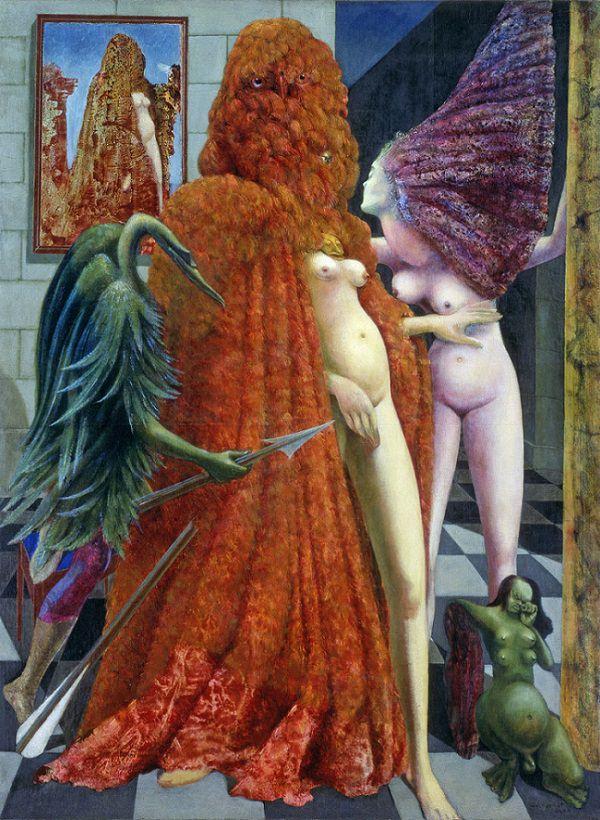 Attirement of the Bride, 1940  Max Ernst  (source)