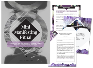 A manifesting ritual for attracting money quickly.
