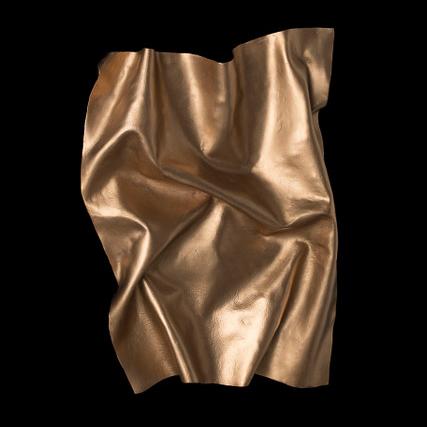 """Oliver Tanner,  """"Liquid Bronze 01"""" , Original, 10 x 50 x 70 cm"""