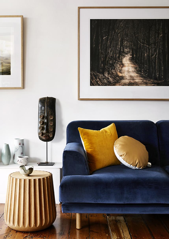 Low stool and sofa - Anaca studio Cushions - Nini Creative Photogrpahy - One Fine Print