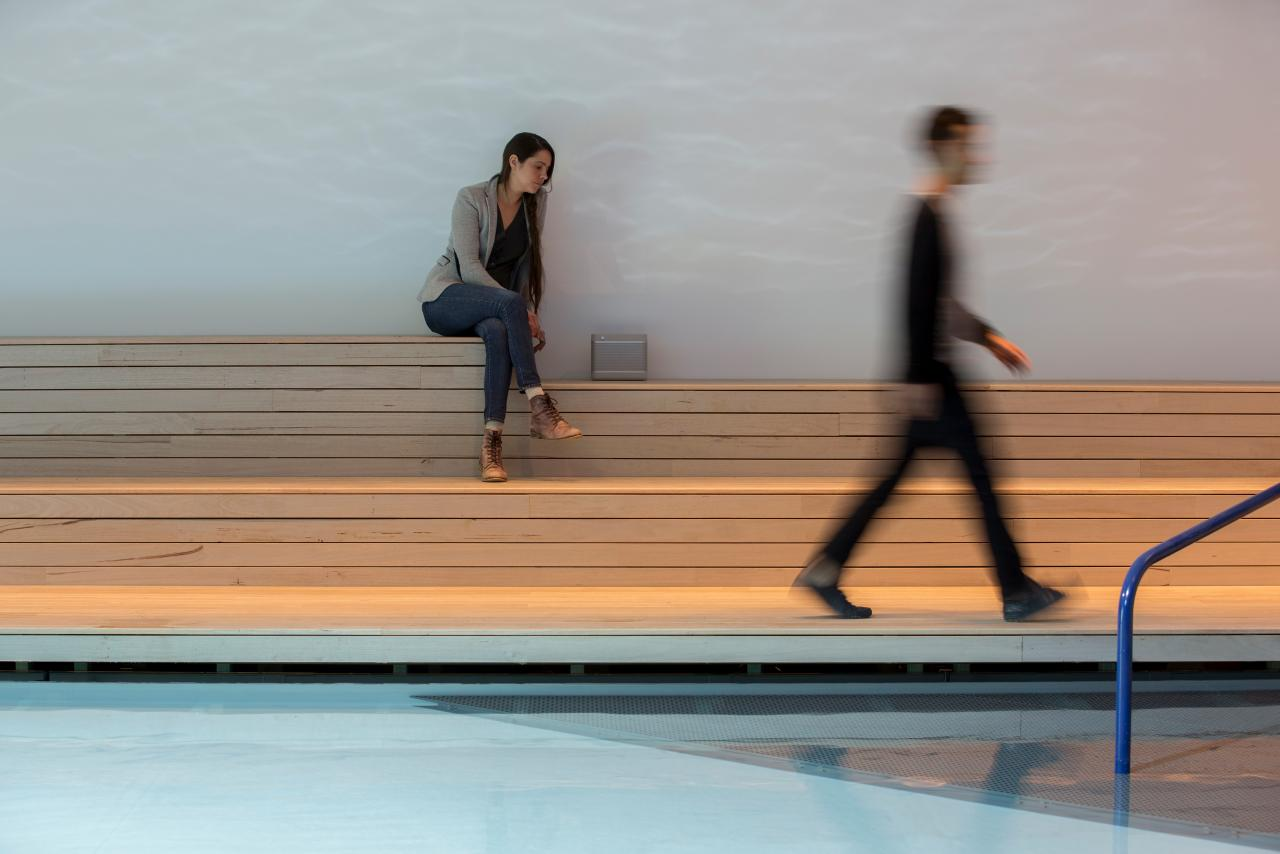 The Pool – exhibition installation at 2016 Venice Biennale of Architecture © Aileen Sage Architects Photo: Brett Boardman © Brett Boardman Photography