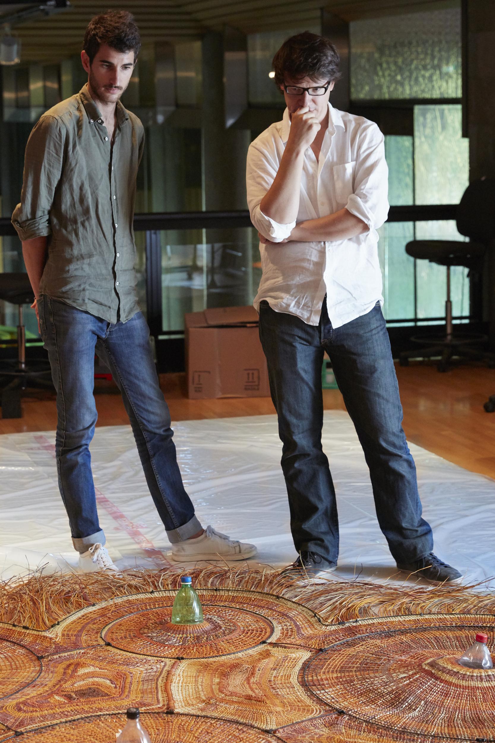 Alvaro Catalán de Ocón and Enrique Romero from Pet Lamp Photo: Damien Kook