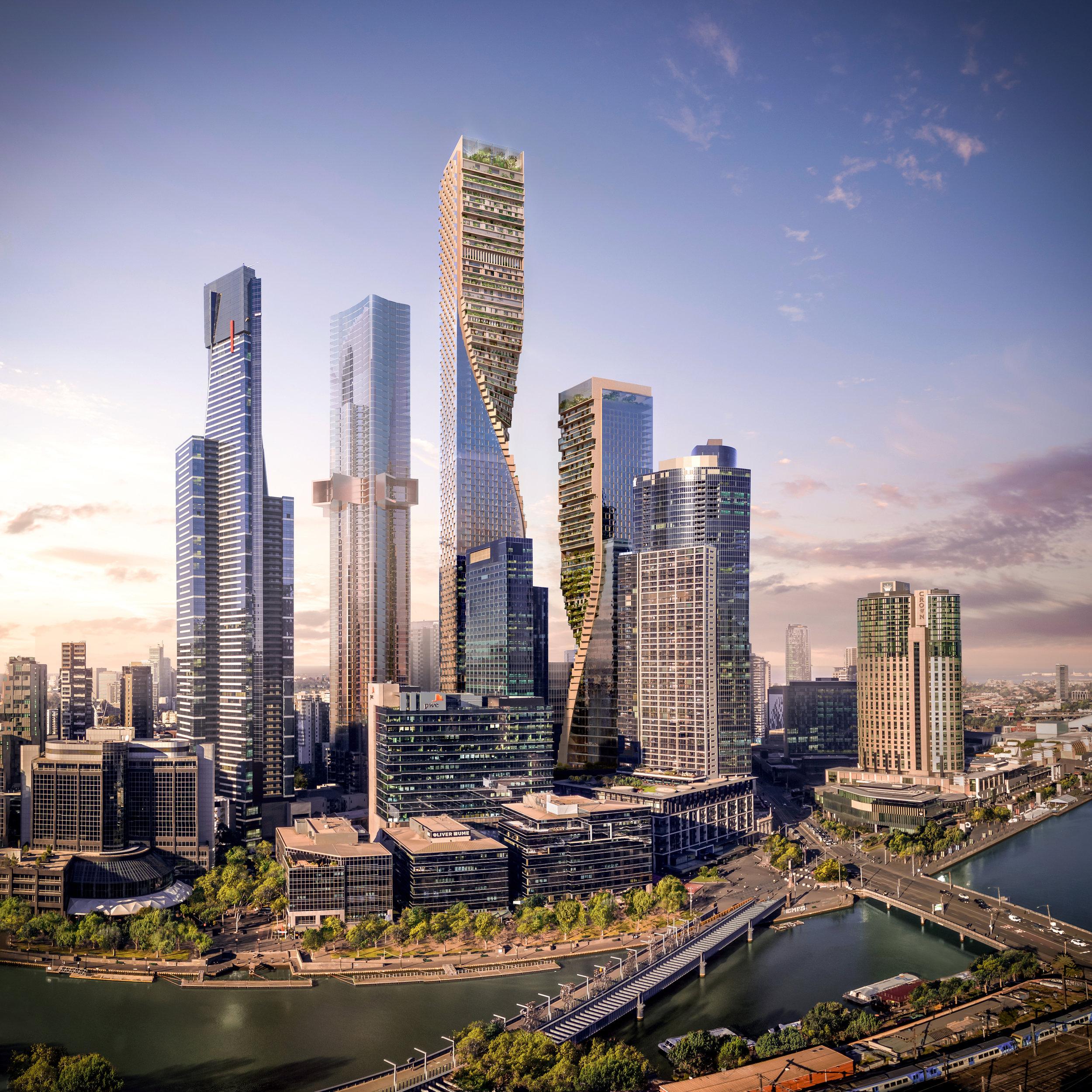 Image courtesy of UNStudio and Cox Architecture