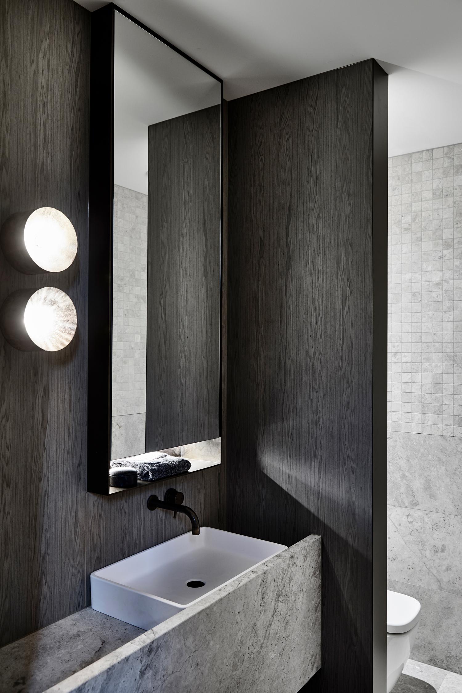 Workroom Architetcure_Agushi building_Meanwhiloe in Melbourne - Bathroom Design