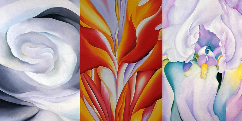 Saturday Social Painting- Flowers with Georgia O'Keeffe.jpeg
