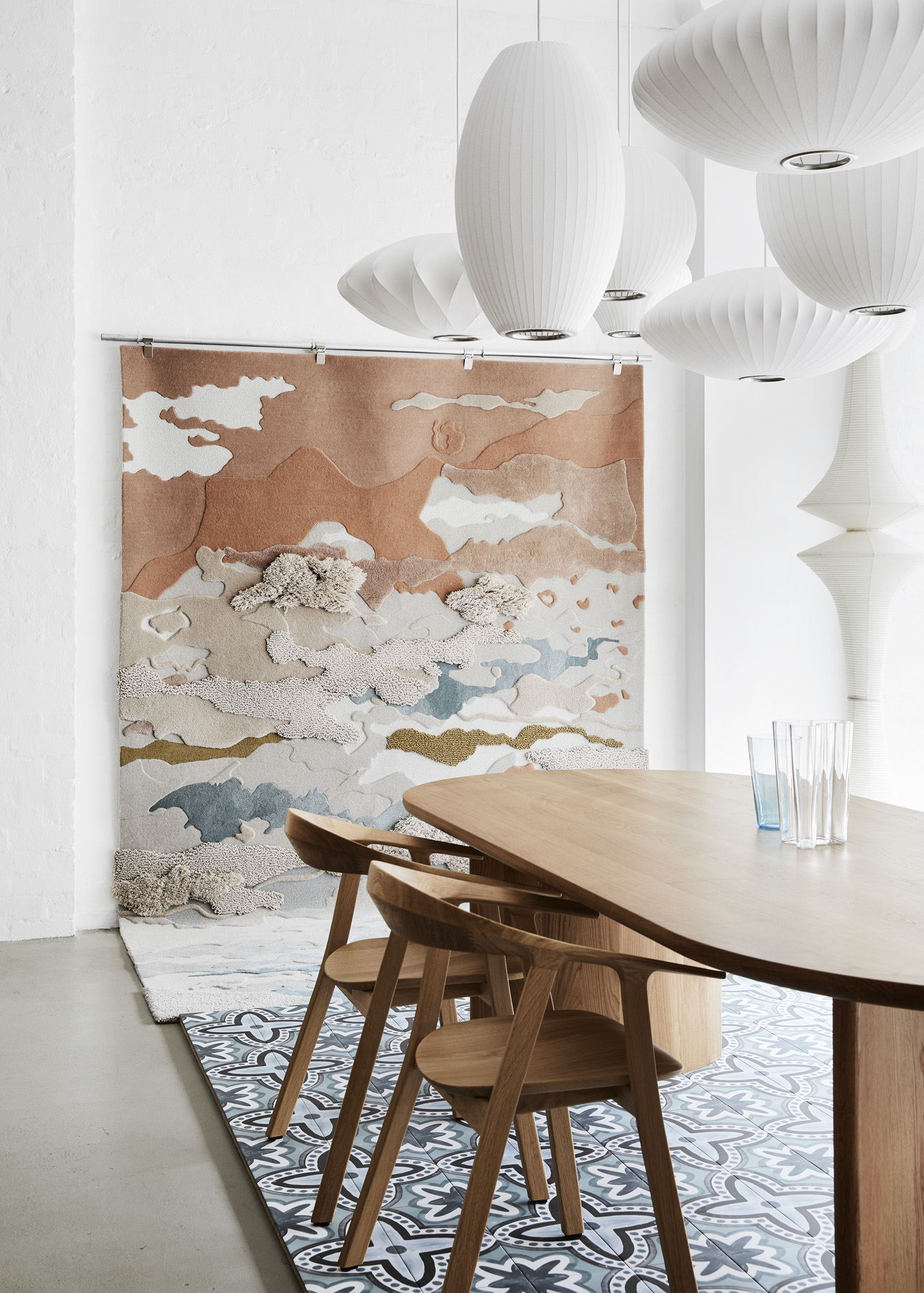 Materiality exhibition by TsarxLukexByzantine - Melbourne Design Week