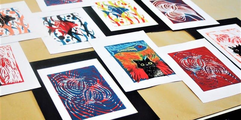 Lino printmaking workshop Meanwhile in Melbourne.jpeg