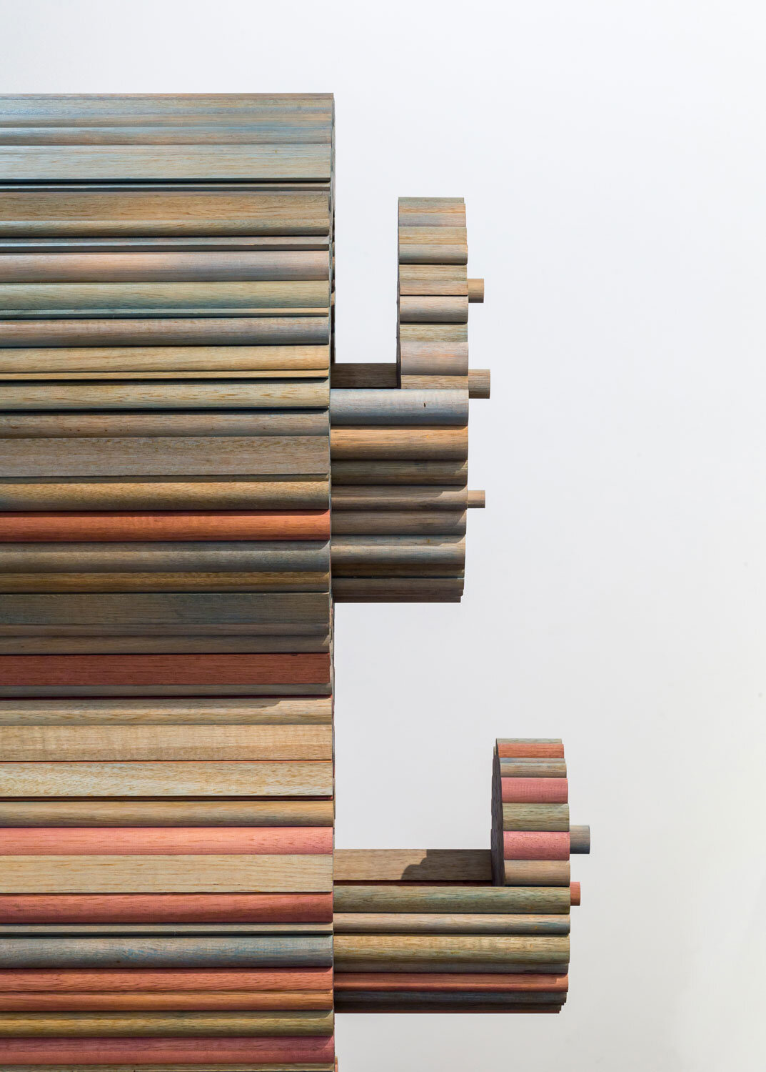 Elliat Rich   Standing place  (detail) from the Other places series 2018 tasmanian Oak 162.0 × 112.0 × 34.0 cm Australian Furniture Design Award Winner 2017 National Gallery of Victoria, Melbourne