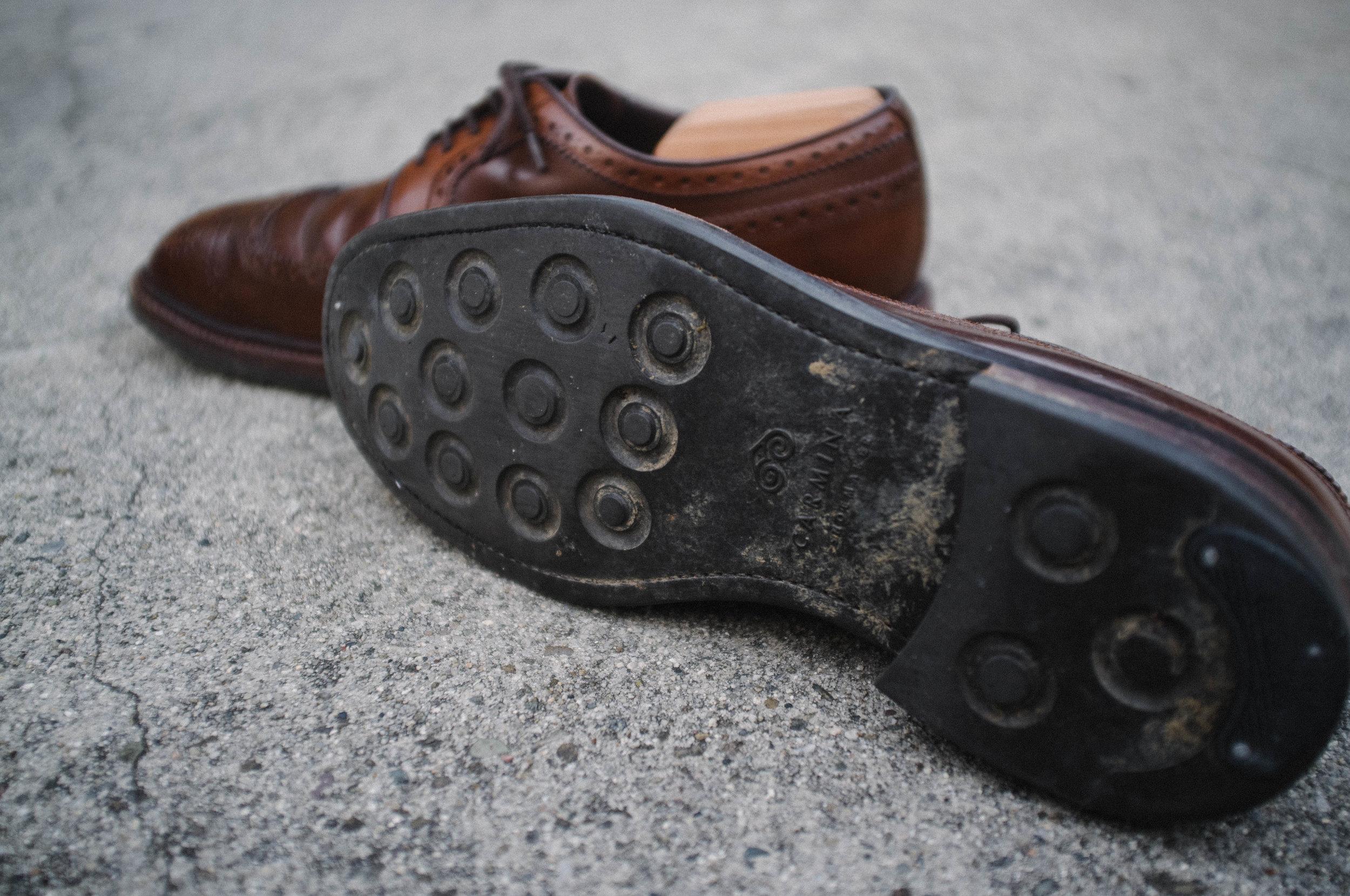Dress Shoes For The Rain — Edwin Zee