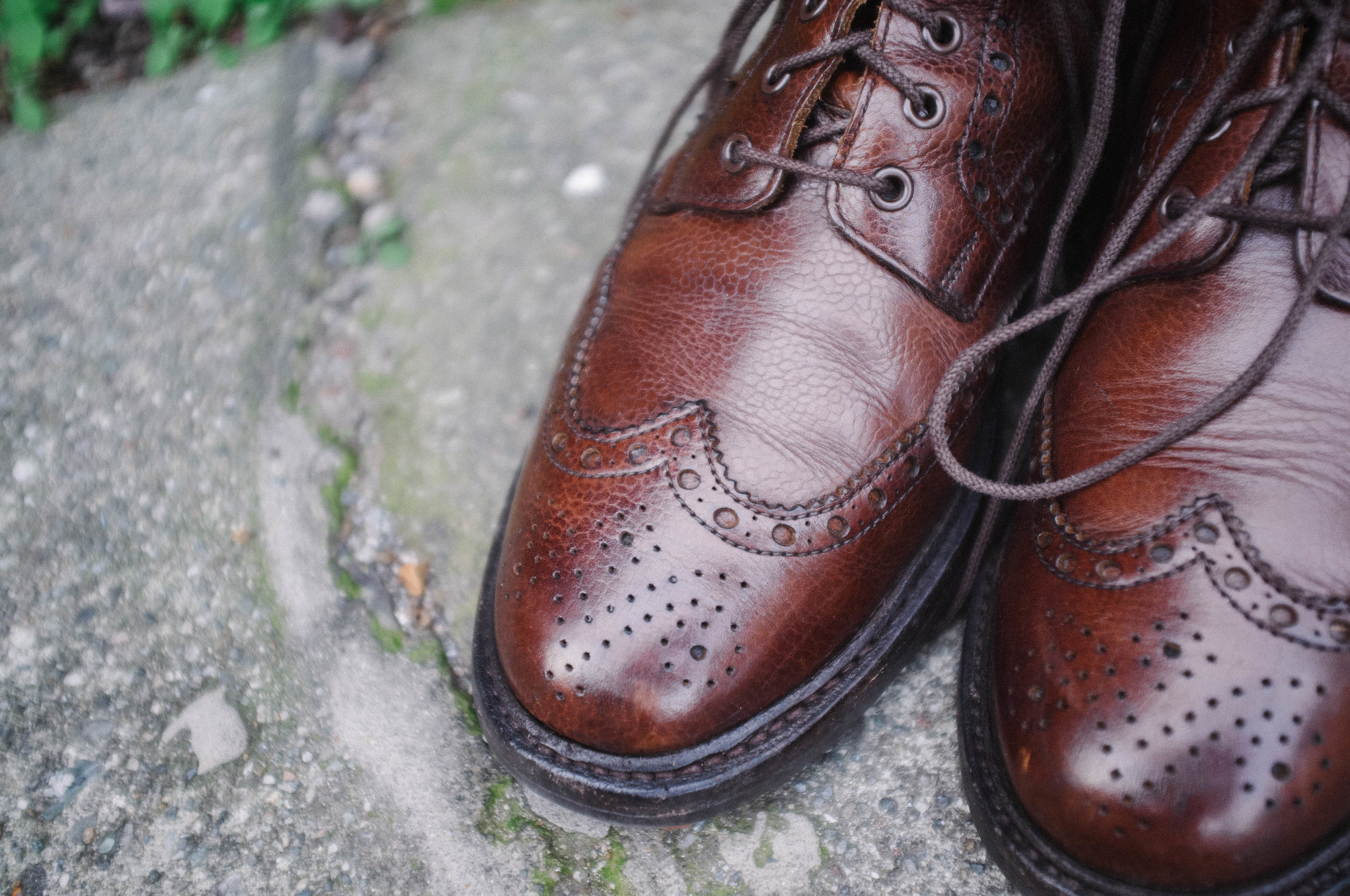 Pebble grain boots