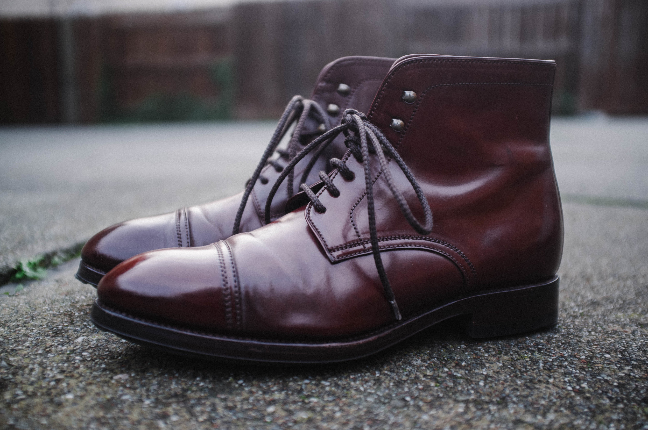 Shell cordovan jumpers