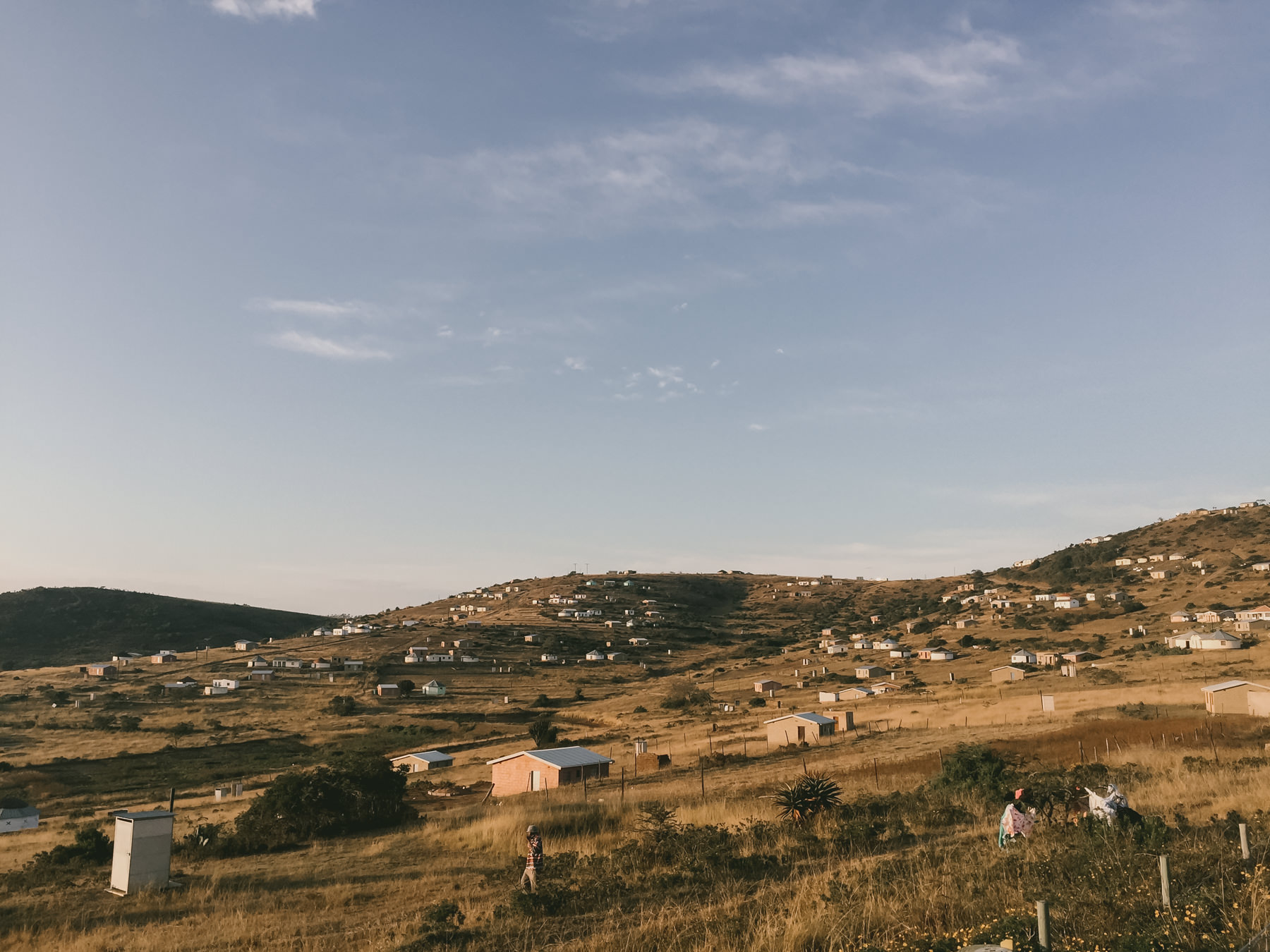 The community area around Khulani. (Taken with iphone... surprisingly)