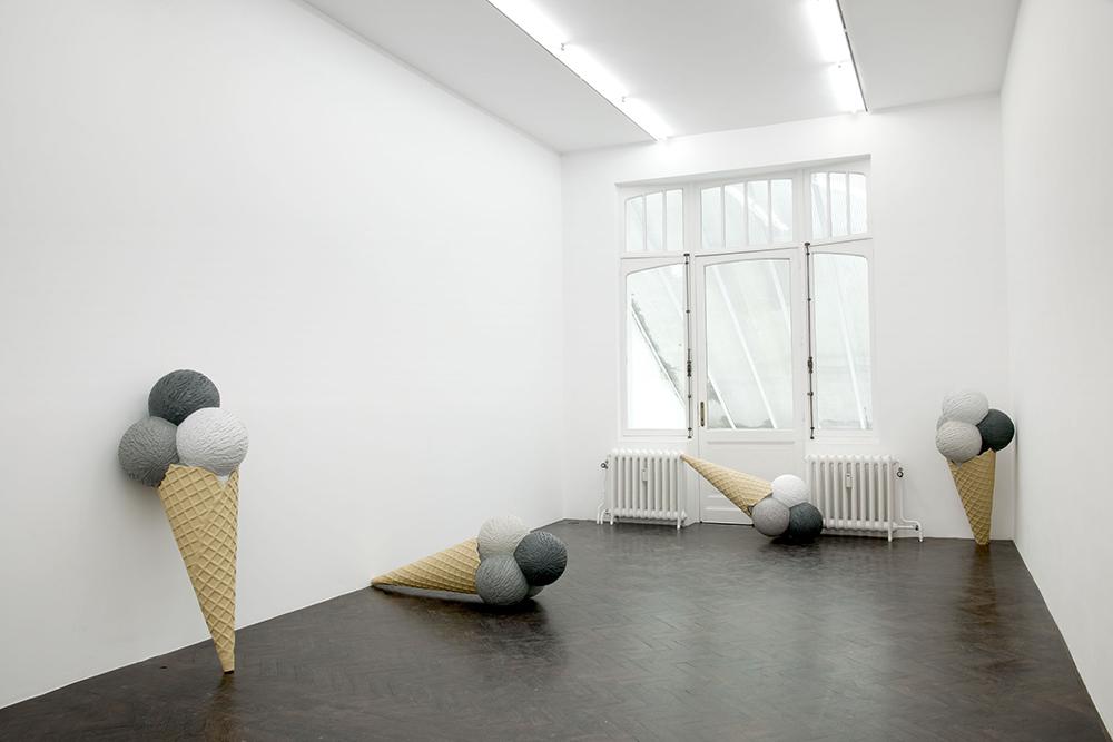 SAD EIS , 2012, installation view. Courtesy of Meesen De Clercq
