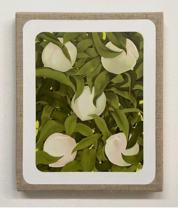 Mika Horibuchi, 5 of Hearts, 2015, Oil on linen. Courtesy of Patron Gallery
