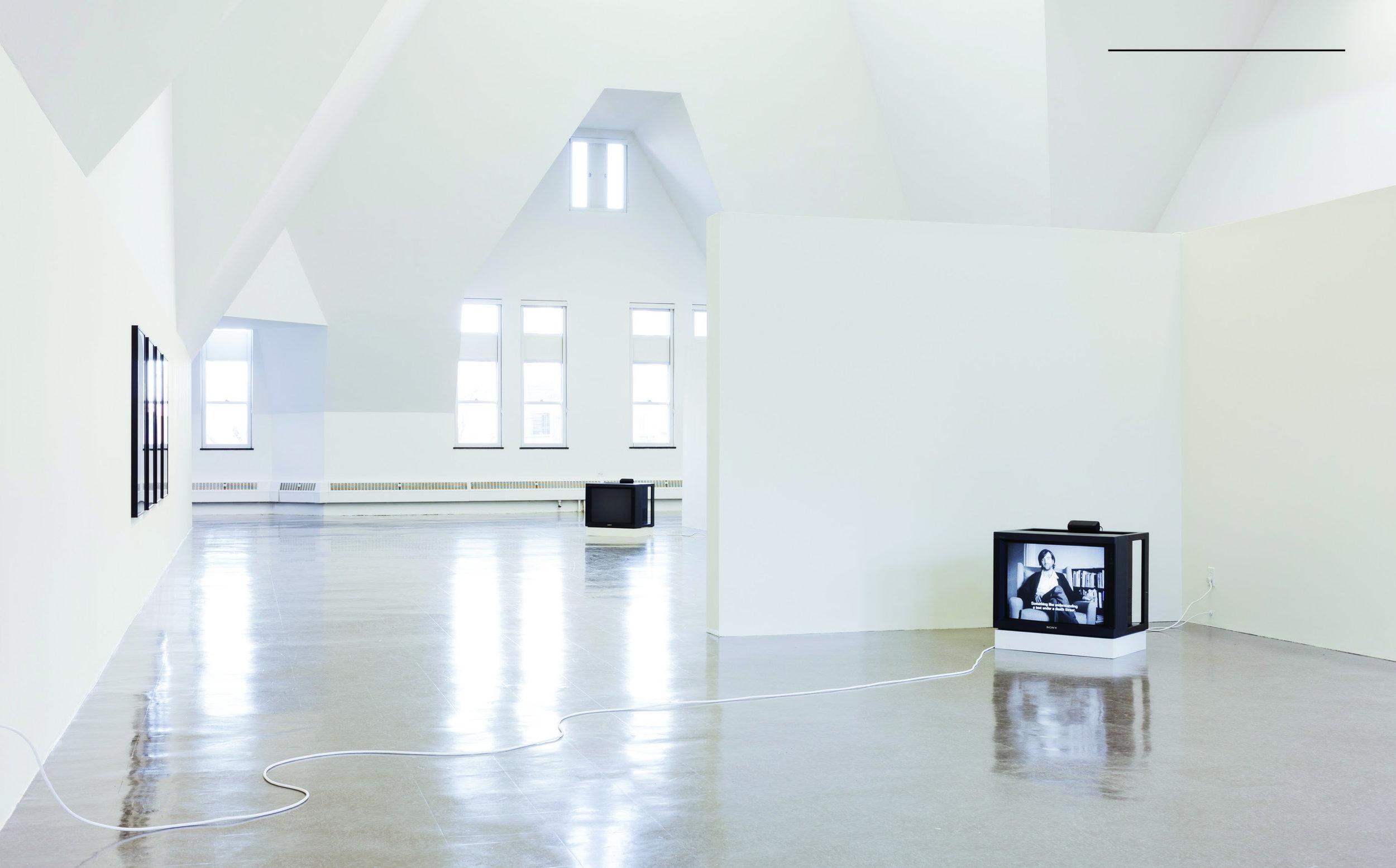 Installation view, The Renaissance Society, 2018.