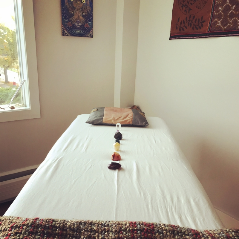 REIKI - Reiki is a very gentle and loving non-invasive modality that promotes the flow of your body's natural energy system. It is deeply relaxing, promotes a sense of self, can assist in connecting to your inner spirit, infuses the body cells with love and light, and can help alleviate emotional and physical pain