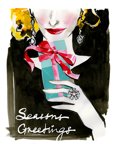 Costume Designers Guild Holiday Card 2013