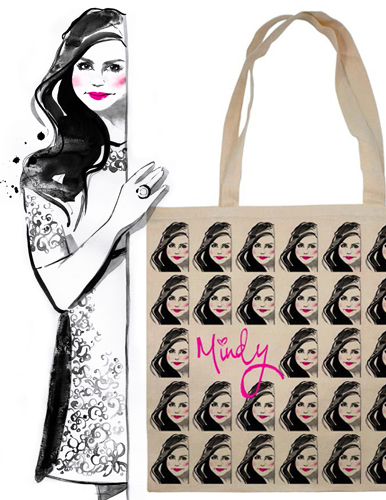 Mindy Kaling Promotional Tote For Why Not Me? Book Tour