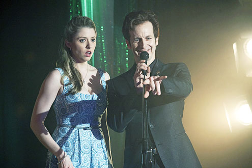 """Annie Abrams and Denis O'Hare in """"True Blood"""""""