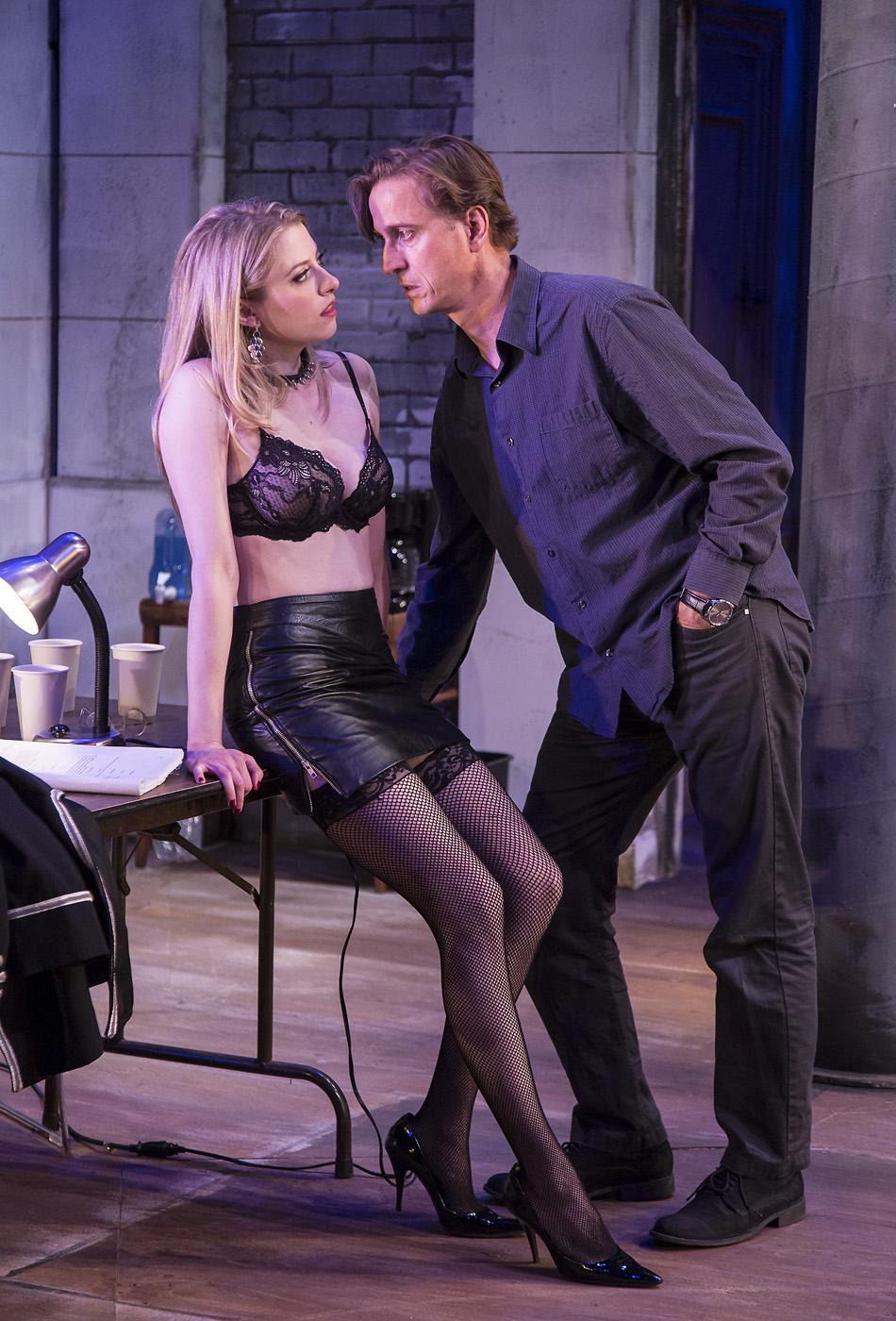 "Annie opposite Bruce Turk in ""Venus in Fur"""