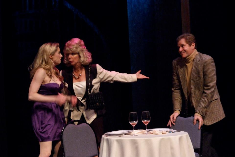 """Annie with Rita Rudner in """"Tickled Pink"""""""
