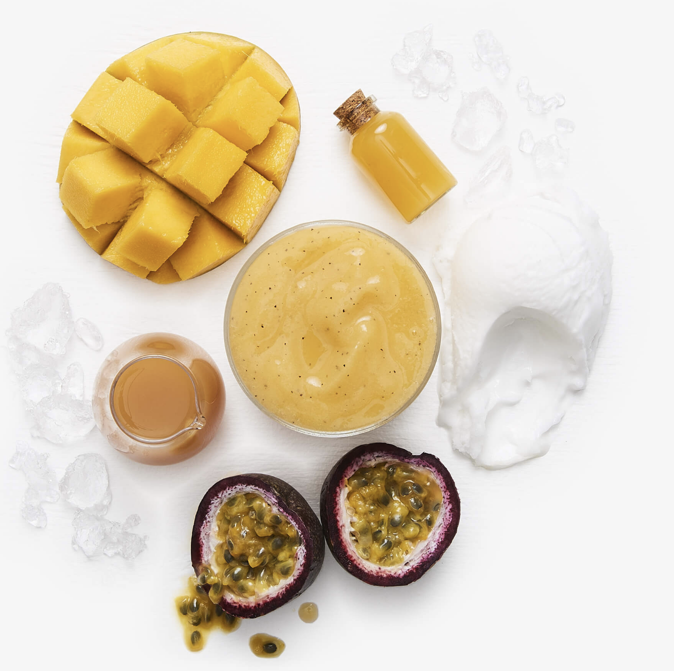 #4 Mango Tango Crush - Drinking this is like a giant kapow in your mouth! The blend of Passionfruit, Mango Nectar, Sorbet, Tropical Juice, Mango & Ice will delight your tastebuds and leave you savouring every last sip!