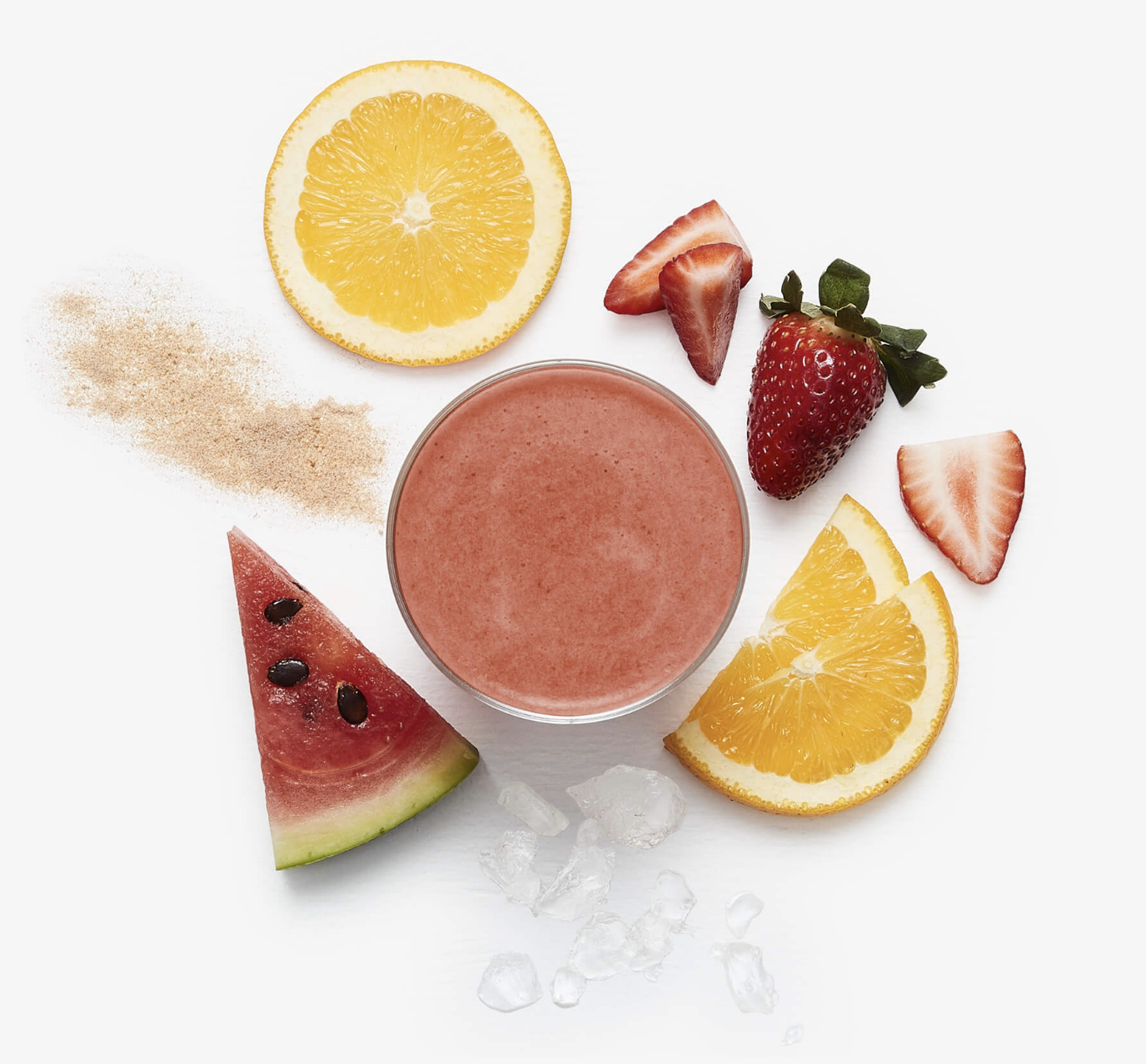 #5 Immunity Juice - This juice is perfect for if you're feeling a little under the weather. You'll be able to taste Strawberries, Freshly Squeezed Orange & Freshly Juiced Watermelon all to help boost your immune system. They've also added Immunity Booster to give your immune system an extra boost.