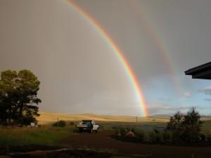 The best ever double rainbow