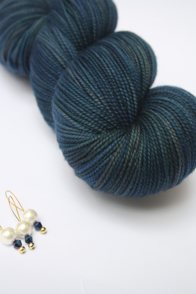 I wouldn't go so far as to say sock knitters are obsessed, exactly, but there are sock yarn clubs out there, like this one from Augustbird (Rebecca Robinson)–Downton Abbey. You sign up and get, for instance, a skein a month for 3 months. And if you don't sign up, tough luck.