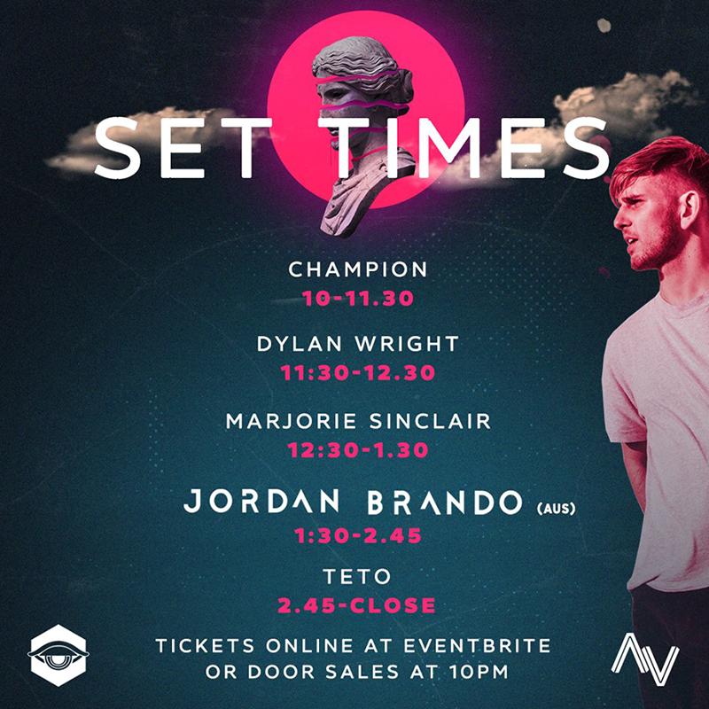 Jordan Brando - AV ClubApril 13th 2019