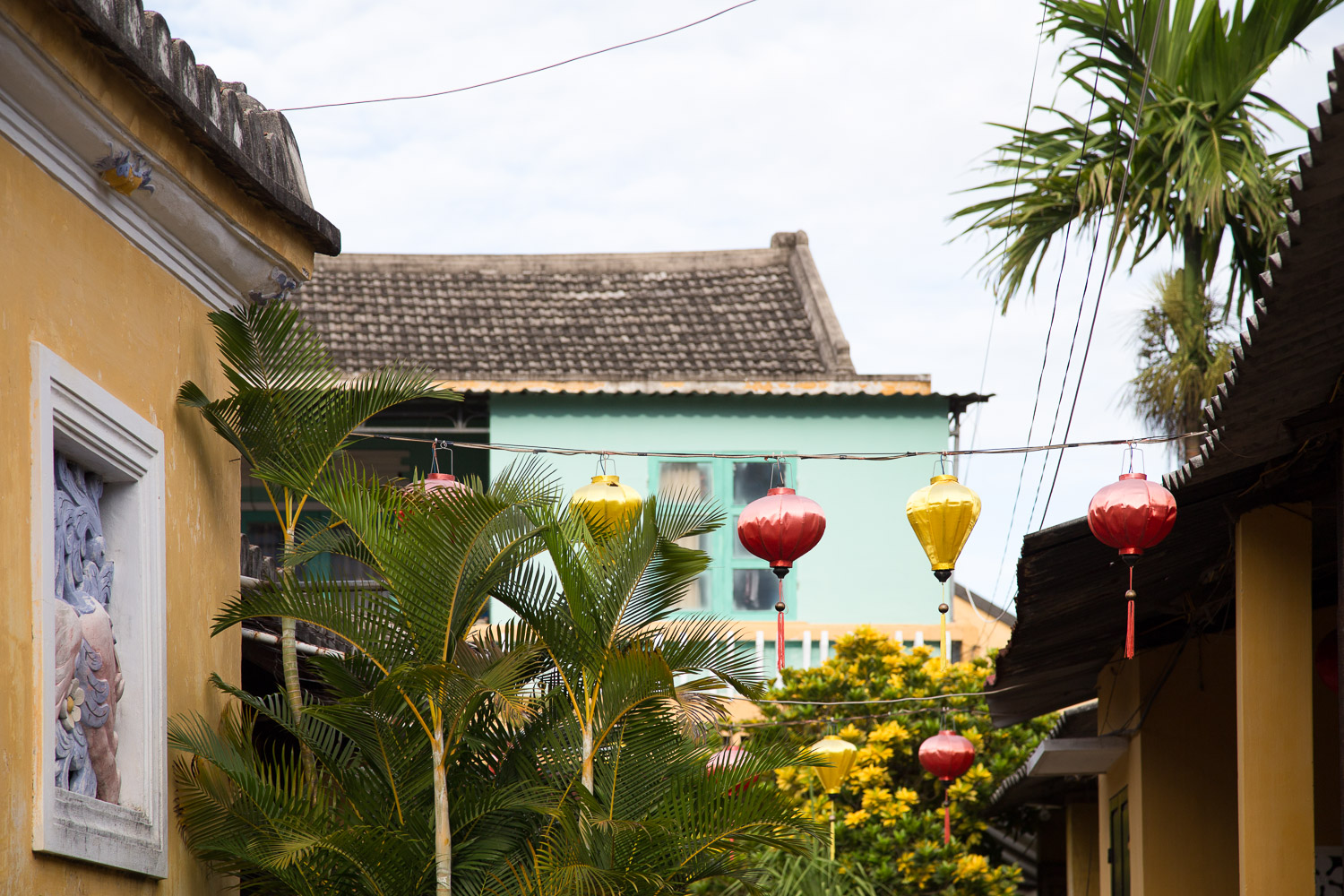 Silk lanterns decorating the streets of Hoi An's Old Town are beautiful by day and even more striking at night.