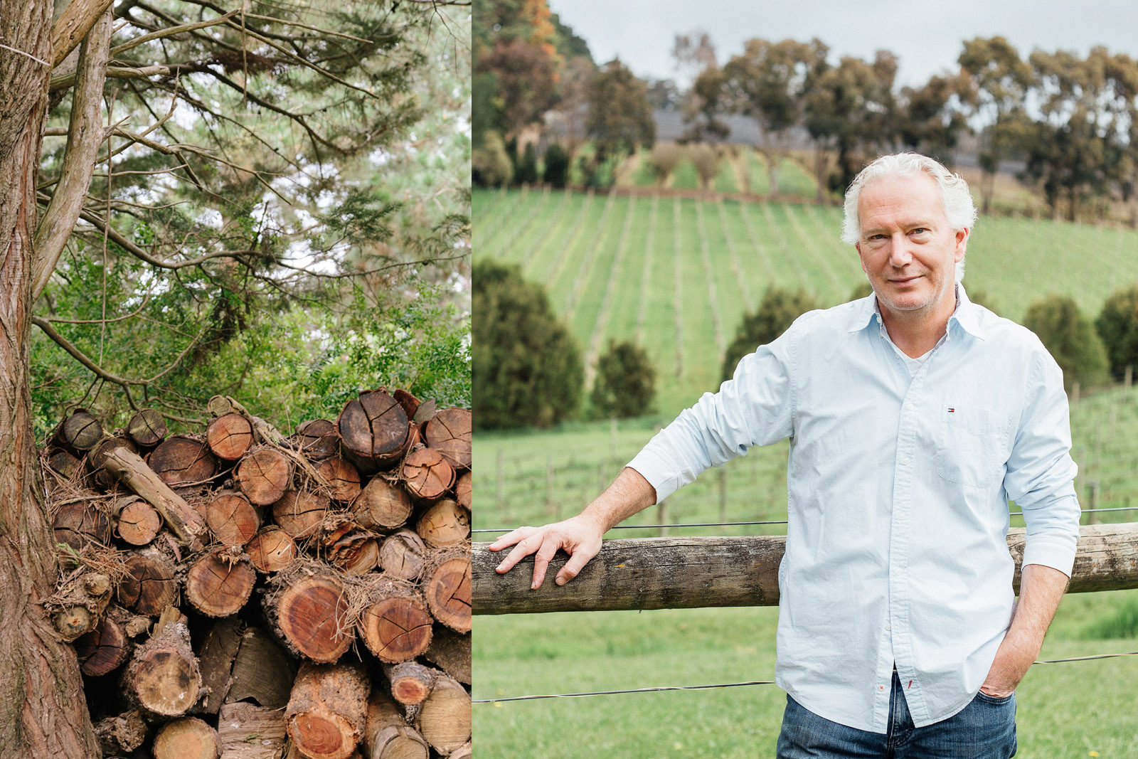 Fans of cool-climate grape varietals such as Pinot Noir and Chardonnay will be spoilt for choice touring the Mornington Peninsula. Michael Lee, above, runs a great cellar door and relaxed, rustic dining at his winery in Red Hill.