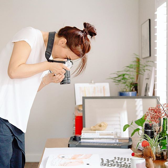 Spending time documenting @bjw_moments in her Adelaide home studio was utterly delightful. In amongst flurried bouts of activity and creativity she carved out quiet pauses for us to reflect on our progress with Chinese tea ceremony and conversation. Of course the whole thing was all the more pleasurable as we were also working alongside my longtime friend and collaborator @sweet_polka - who I've missed terribly since her move to Adelaide last year. Good to be back in the saddle together again ✨
