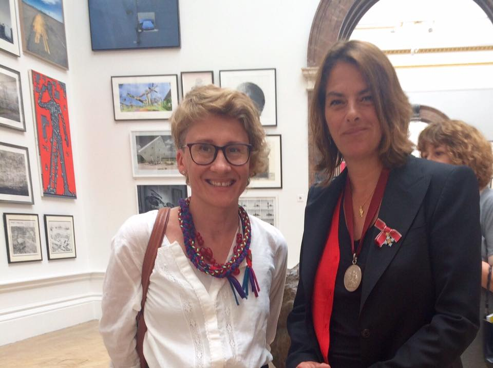 Karolina with Tracy Emin.jpg