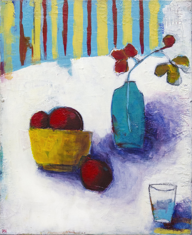 Sunday Mood, acrylic on canvas, 40x50cm