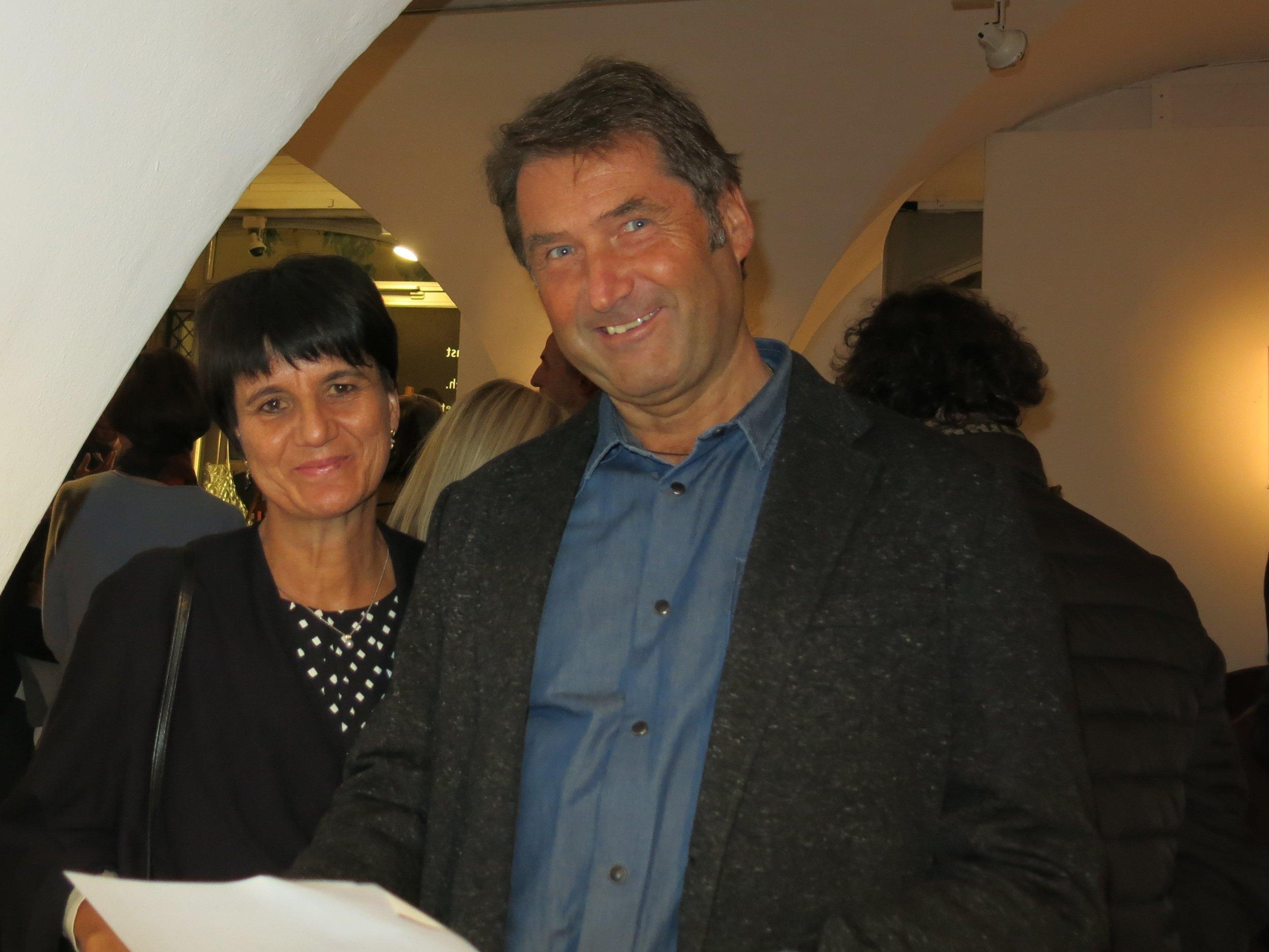 Iris und Willy Oberhofer-Rainer