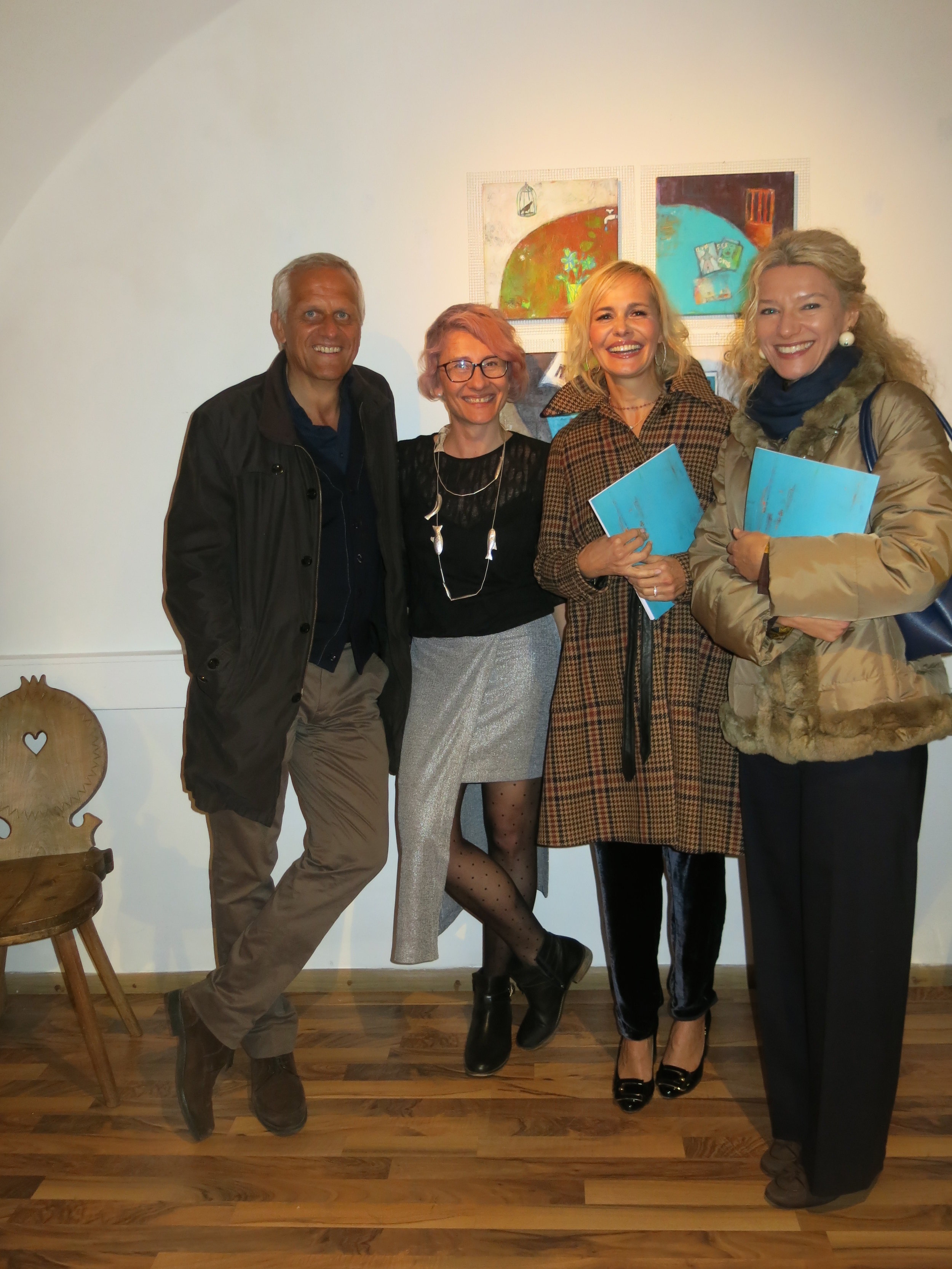 Zeno Kerschbaumer, Karolina Gacke, Barbara Faller, Barbara Cuscina