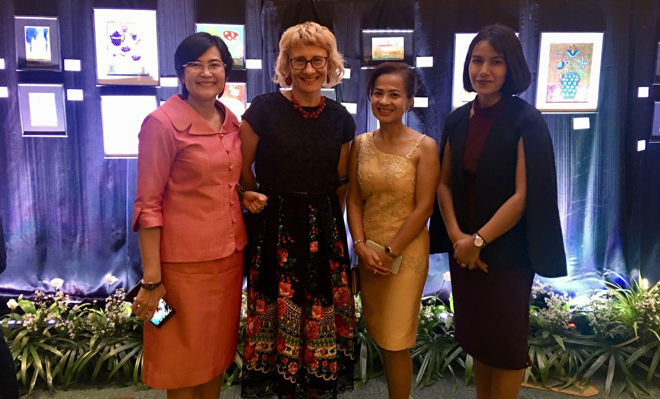 Representatives of Bangkok Bank