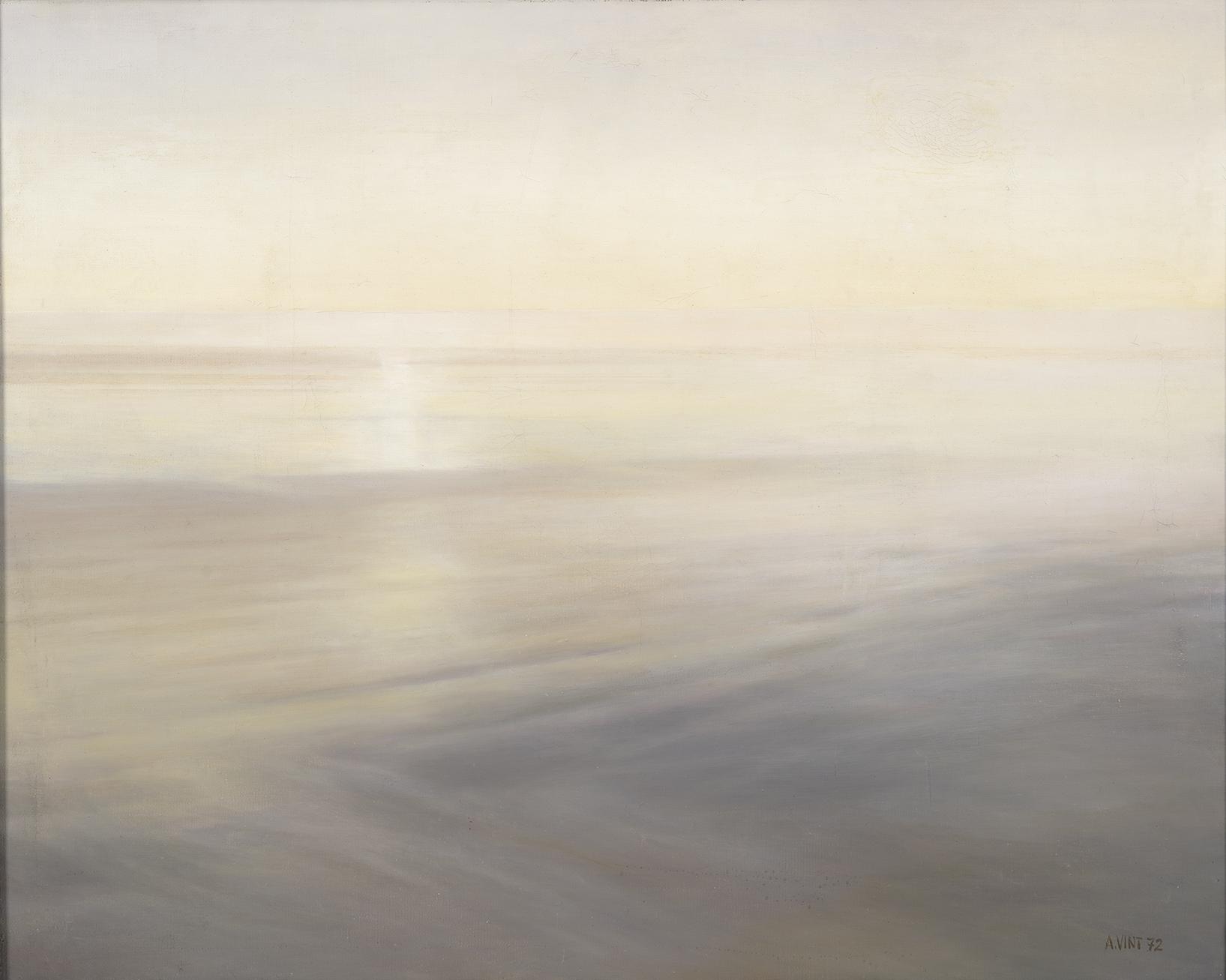 010   Shallow Sea 1972 oil on canvas  92 x 115 cm Tartu Art Museum 13-ATD madal meri.jpg