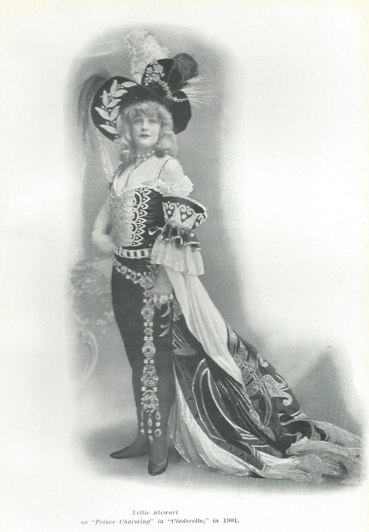 Nellie in 'Breeches Role'
