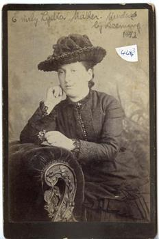 Emily Lydia Mather, Reproduced with permission from the collection of Victoria Police Museum.