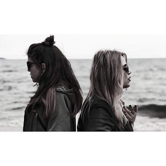 About yesterday's video shooting 🎶🤩 Click by @panagiotis_picos . . . . . . #projectuncut #annastephanou #katerinaliaki #kaleidoscope #electropop #electronicmusic #love #music  #athens #greece  #newalbum #bythesea #vitaminsea #seaview #blue #deepblue #videoshooting #videoclip #playwell #comingsoon